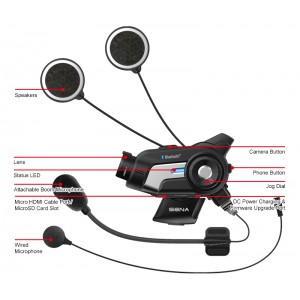 Sena 10C Motorcycle Camera and Intercom System