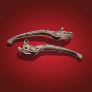 GL1800 Smoke Chrome Brake & Clutch Leavers