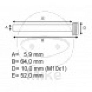 Brake Caliper Pin Set