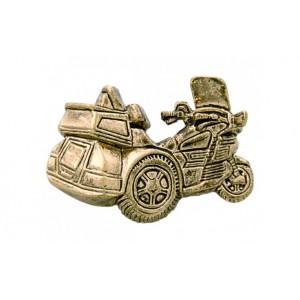 Trike Gold Pin