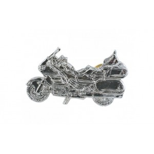 GL1800 Silver Motorcycle Pin