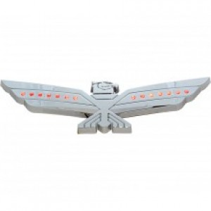 LED Amber Lighted Chrome Eagle Emblem