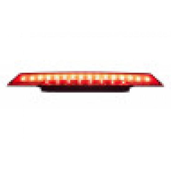GL1800 2018-21 Central Taillight Trim w/Red Lens Running & Brake Light.
