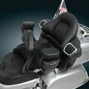 Goldwing GL1800 Black Backrest Kit