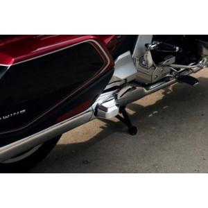 GL1800 Twinart Chrome Saddlebag Guard Covers