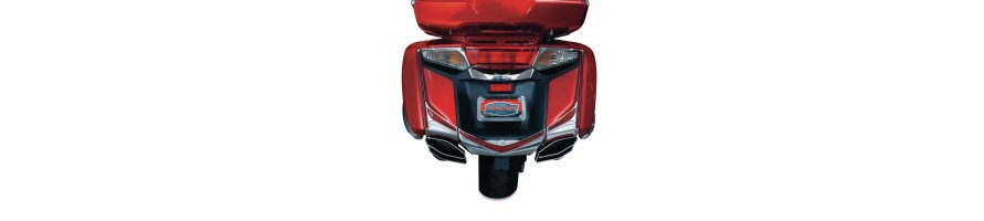 Goldwing GL1800 2012-2016 Rear Parts & Accessories