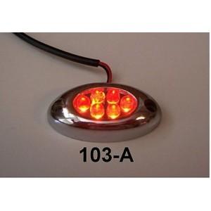 CLUSTER LAZER LED LIGHTS (AMBER)