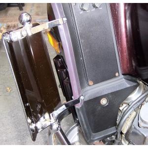 Fairing Wind Deflectors For  GL1000, GL1200
