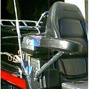 GL1500 Black Passenger Armrests