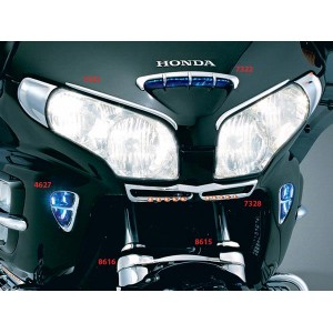 GL1800 Amber L.E.D. Lighted Front Nose Grill