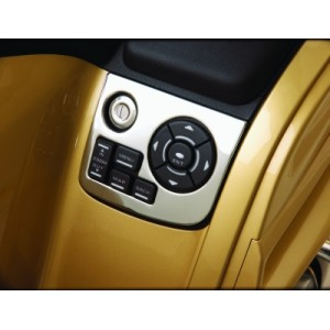 GL1800 Chrome Navigation Control Panel Accent