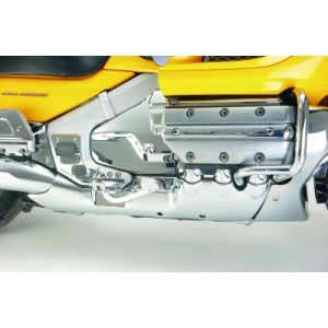 GL1800 Chrome Rear Lower Cowl
