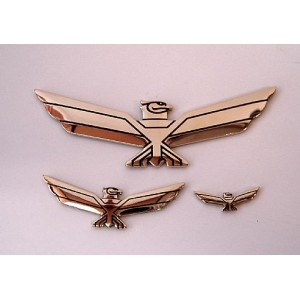 Goldwing Eagle Emblem 3in x 1in