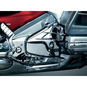 GL1800 Chrome Louvered  Transmission Cover