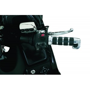 GL1800 Chrome ISO-Grips for Heated Grips