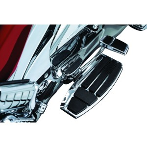 GL1800 Chrome Driver Floorboard Kit