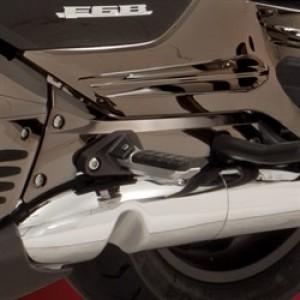 GL1800  Smoke Chromed Passenger Board Covers