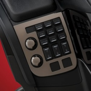 GL1800 Smoke Radio Accent Panel